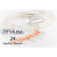 "Meso-perfusion ""octopus"" catheter /  24 needles"